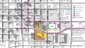 00 - Floor Plan - SITE DIAGRAM - OPT A - SITE ENTRIES