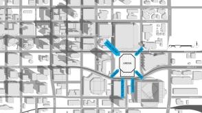 00 - Floor Plan - SITE DIAGRAM - PLAZA ON CENTER ENTRIES